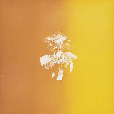 Louis le Brocquy, 'Mycenean Gold Mask', 1974