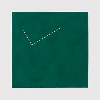 Stephen Antonakos, 'Untitled Cut, JU#4', 1978
