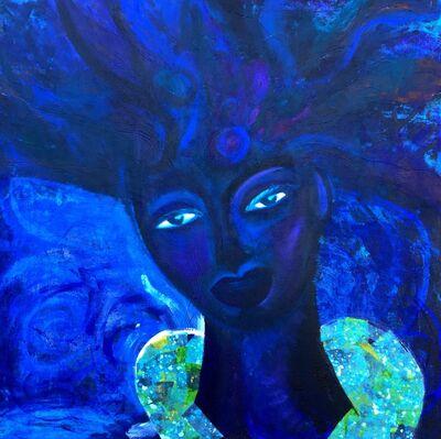 Natalie Alleyne, 'Indigo Queen', 2018