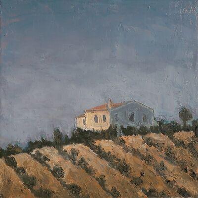 Albert Hadjiganev, 'Maison dans l'oliveraie',