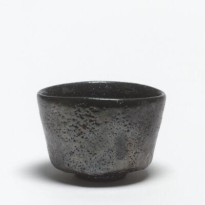 Shiro Tsujimura, 'Black raku tea bowl (kuro raku chawan)', 1993