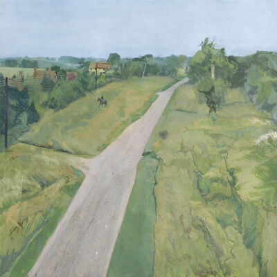Michael Andrews, 'SAX A.D. 832 - First Painting', 1982