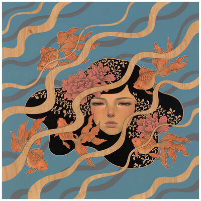 Audrey Kawasaki, 'We Float', 2014