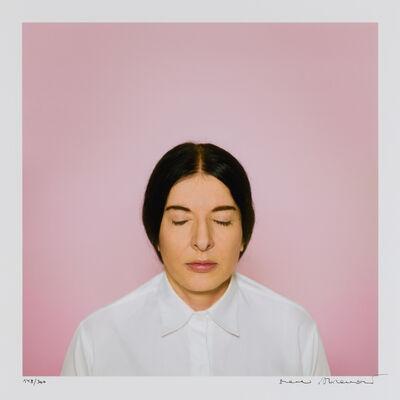 Marina Abramović, 'The Current', 2013