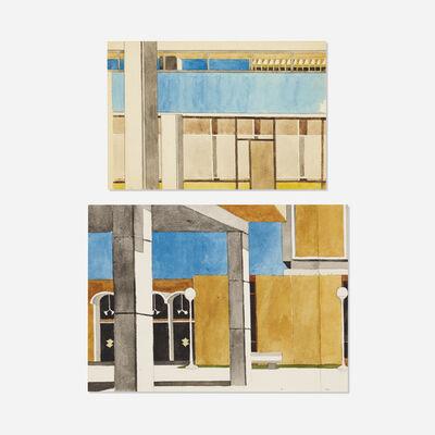 Robert Herrmann, 'Untitled (two works)', c. 1995