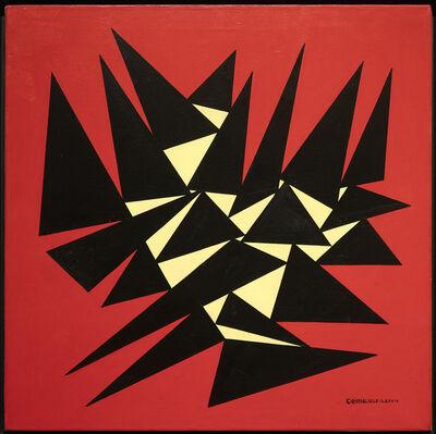 José Pedro Costigliolo, 'Triángulos negros', 1984