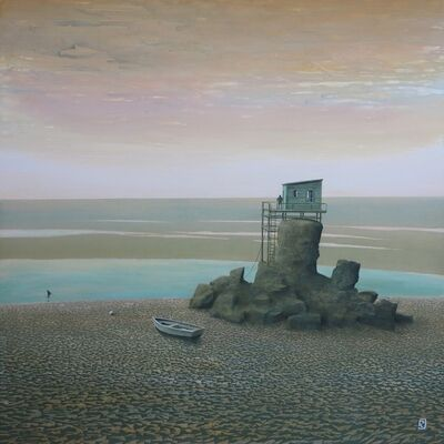 Philippe Charles Jacquet, 'le rocher solitire', 2017