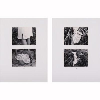 Paul-Armand Gette, 'Dans les helymus, (dyptique)', 1980