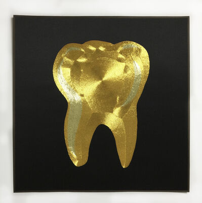 Ming Lu, 'Materialist life - gold tooth', 2021
