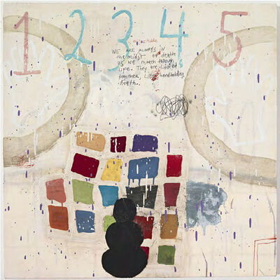 Squeak Carnwath, 'March Through Life', 2017