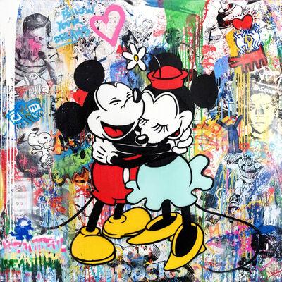 Mr. Brainwash, 'Mickey & Minnie', 2015