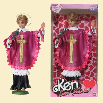Pool y Marianela, 'Ken: San Valentin (St. Valentine Barbie)', 2019
