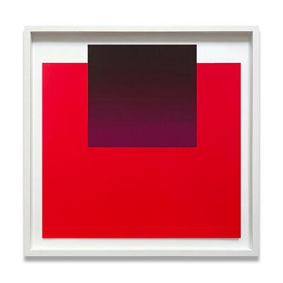 Rupprecht Geiger, 'Violet on Red (No. 2 from all die roten farben…)', 1981