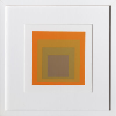 Josef Albers, 'Homage to the Square, Portfolio 2, Folder 19, Image 2', 1972