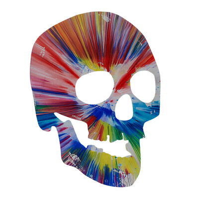 Damien Hirst, 'Skull Spin Painting (Created at Damien Hirst Spin Workshop)', 2009
