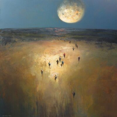 Mel Brigg, 'Moonlight Arrivals', 2020