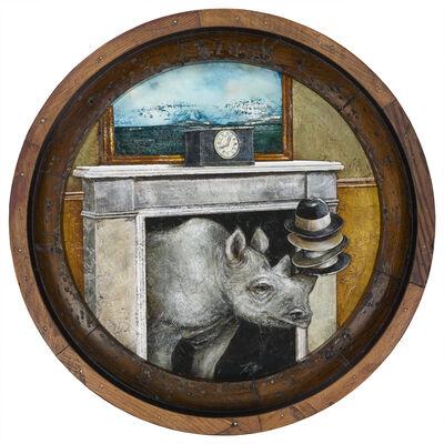Tyson Grumm, 'The Gentlemanly Tale of Rhino-Flue Hat-Stacker', 2019