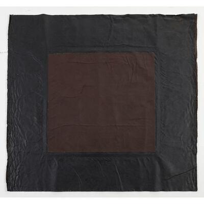 André Valensi, 'Toile double marron', 1990