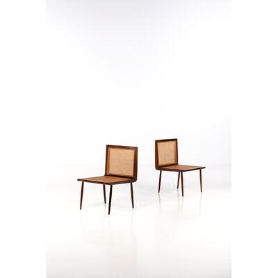 Joaquim Tenreiro, 'Cadeira baixa - Pair of fireside chairs', 1950