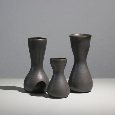Sunna Jonsdotter, 'Unique stoneware vases, group I', 2019