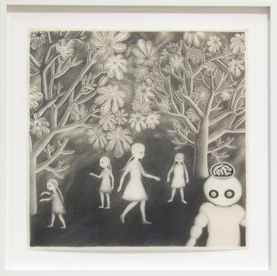 Andrea Dezsö, 'Night Drawings: Girls in the Night Garden', 2013