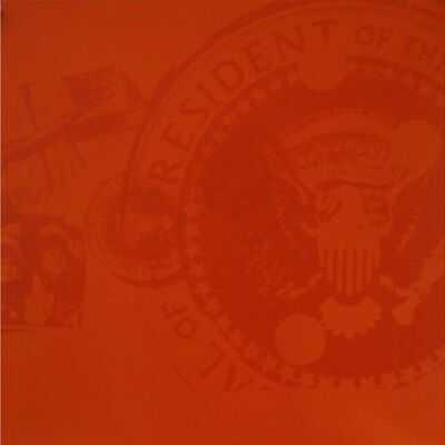 Andy Warhol, 'Flash, II.33 Orange Presidential Seal', 1968