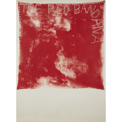 Jim Dine, 'Two Prints: Red Bandana; Untitled (Lips)'
