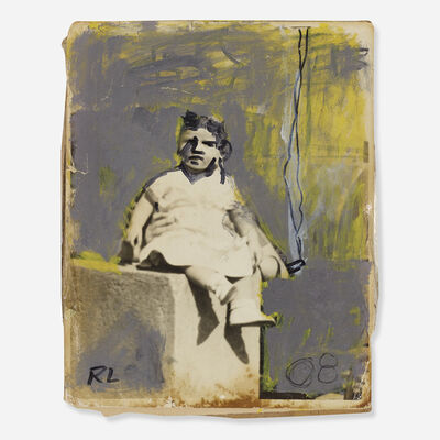 Robert Loughlin, 'Little Boy with Cigarette-Dada', 2008