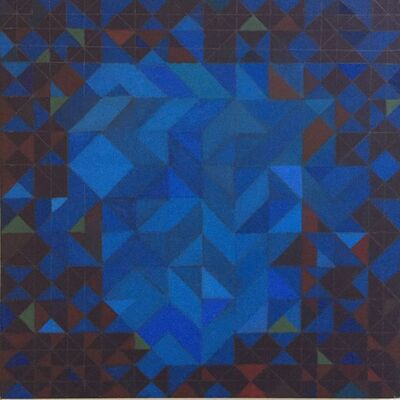 Diana Horowitz, 'Blue Core', 2018