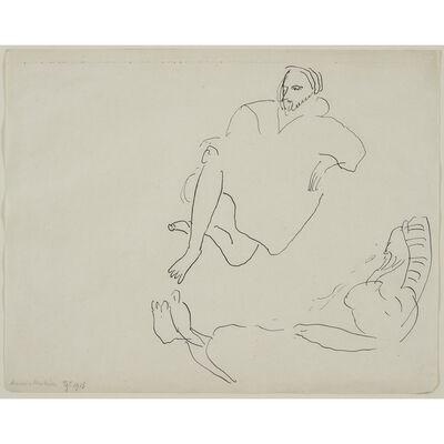 Henri Matisse, 'Deux Personnages Allongés', 1913