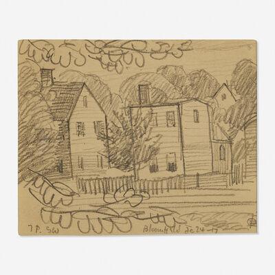 Oscar Bluemner, 'Willet and John Streets'