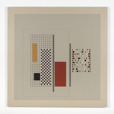 Andrew Christofides, 'Grey Construction No. 10', 1989