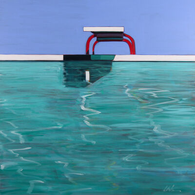 Melissa Chandon, 'Summer Pool', 2017