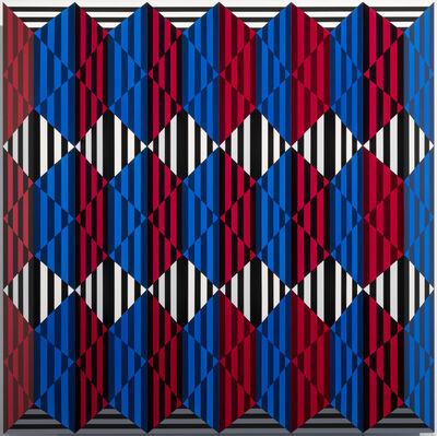 Roland Helmer, 'Rot, blau, schwarz, weiß', 2020