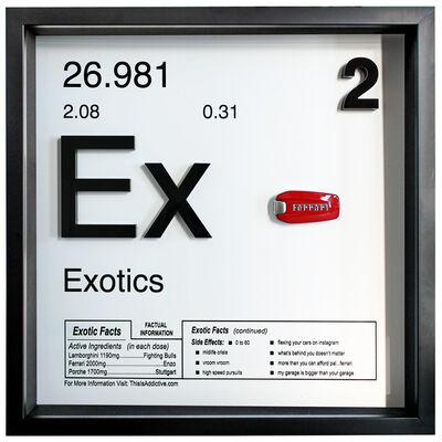 Daniel Cohen, 'Exotics (Ex - 2 / Ferrari)', 2019