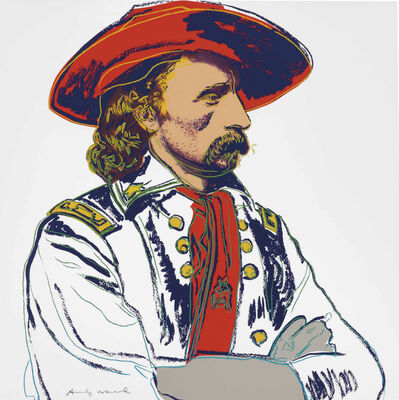 Andy Warhol, 'General Custer, from Cowboys and Indians', 1986