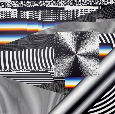 Felipe Pantone, 'OPTICHROMIE 101', 2018