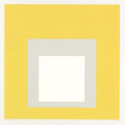 Josef Albers, 'I-S b', 1968