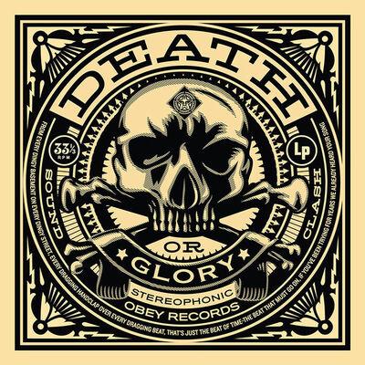 Shepard Fairey (OBEY), '50 Shades of Black Box Set: Death or Glory', 2014