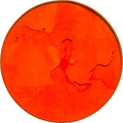 Manuel Merida, 'Cercle Orange Fluo', 2011