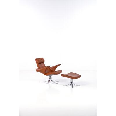 Gösta Berg, 'Seagull ChairFauteuil and Ottoman Model'
