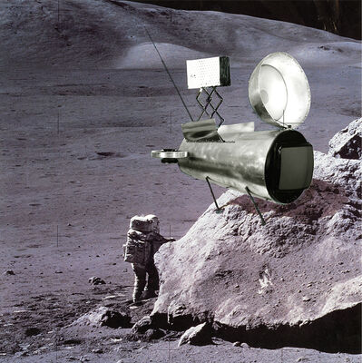 Koen Deprez, 'Espace Télé II', 1985