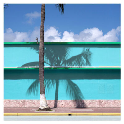 George Byrne, 'Blue Wall Miami', 2019