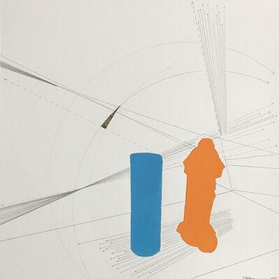 Kiki Gaffney, 'Fire Hydrant & Pylon (Abstract)', 2018