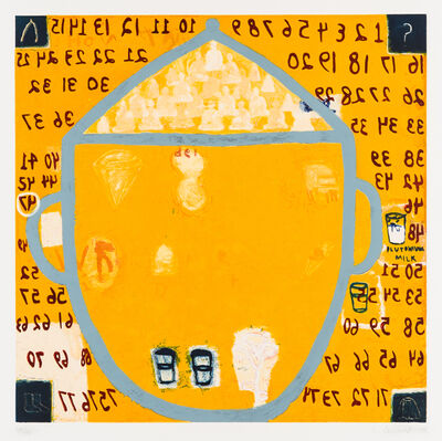 Squeak Carnwath, 'Second Inside Thoughts', 1995