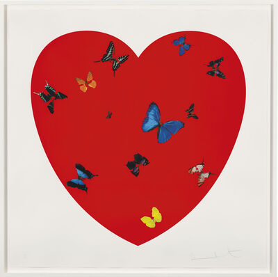 Damien Hirst, 'All you need is Love Love Love', 2008