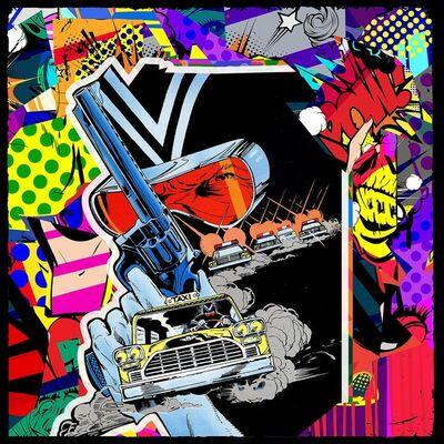 Agent X, 'The adventures of Dixwell Hastings (episode 63) (Pop Art, Street Art, Urban Art)', 2021