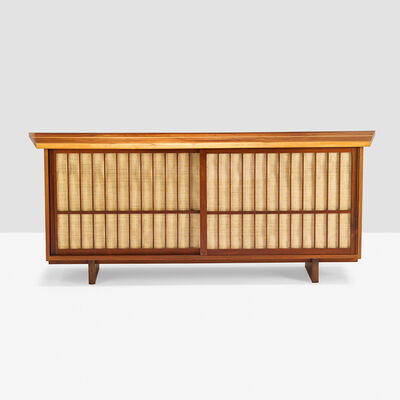 George Nakashima, 'Sliding Door Cabinet, New Hope, PA', 1961