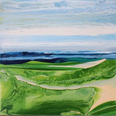 John Redick, 'Along The Trail at Crain Beach', 2018
