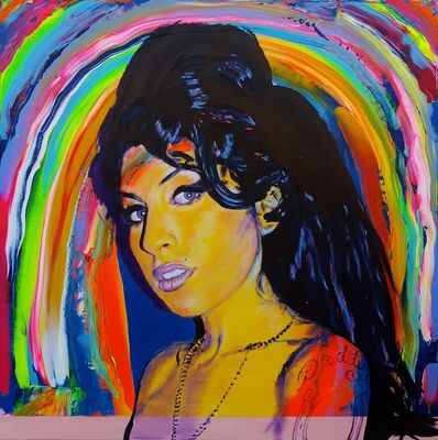 Jack Graves III, 'Amy Winehouse Icon', 2017